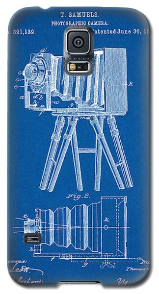 1885 Camera Us Patent Invention Drawing - Blueprint Galaxy S5 Case