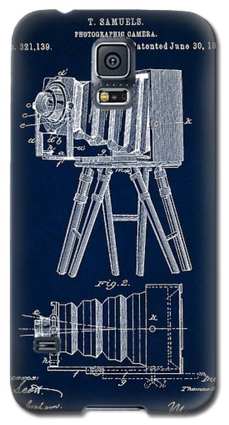 1885 Camera Us Patent Invention Drawing - Dark Blue Galaxy S5 Case