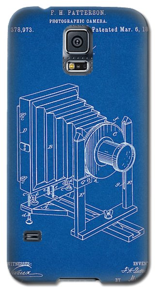 1888 Camera Us Patent Invention Drawing - Blueprint Galaxy S5 Case