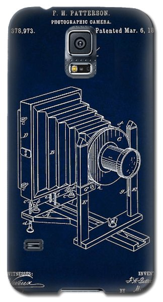 1888 Camera Us Patent Invention Drawing - Dark Blue Galaxy S5 Case