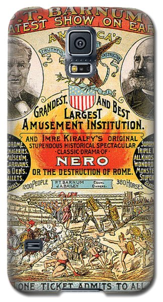 1890 - Circus Poster Galaxy S5 Case