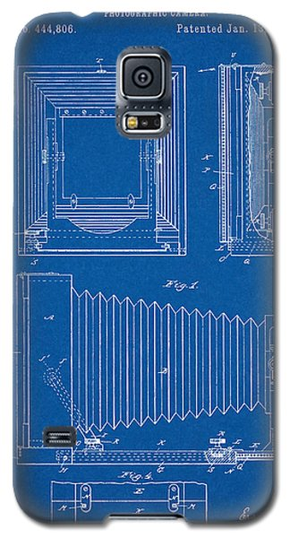 1891 Camera Us Patent Invention Drawing - Blueprint Galaxy S5 Case