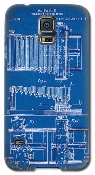 1897 Camera Us Patent Invention Drawing - Blueprint Galaxy S5 Case