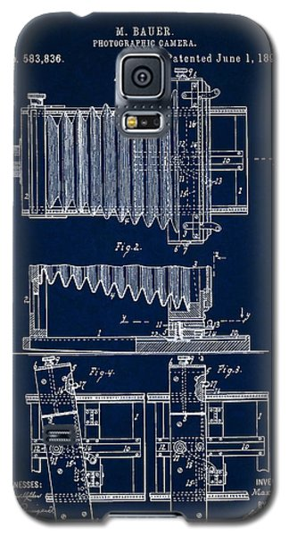 1897 Camera Us Patent Invention Drawing - Dark Blue Galaxy S5 Case