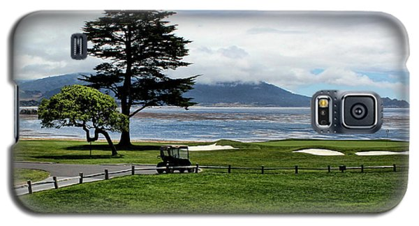 18th At Pebble Beach Horizontal Galaxy S5 Case
