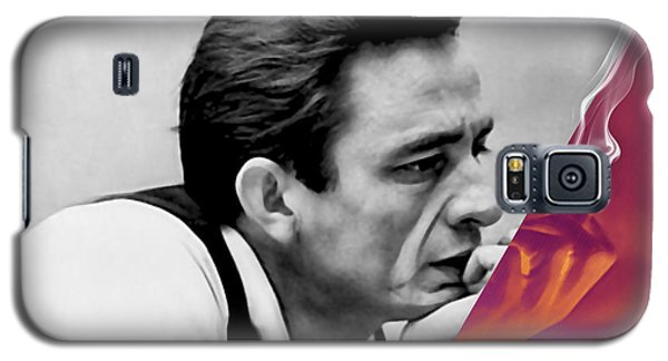Johnny Cash Collection Galaxy S5 Case