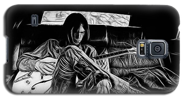 Neil Young Galaxy S5 Case - Neil Young Collection by Marvin Blaine