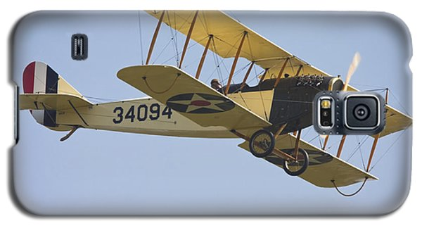 1917 Curtiss Jn-4d Jenny Flying Canvas Photo Poster Print Galaxy S5 Case by Keith Webber Jr