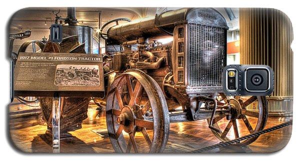 1917 Model 1 Fordson Tractor Dearborn Mi Galaxy S5 Case by Nicholas  Grunas