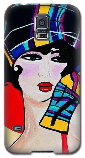 1920's Girl Anna Galaxy S5 Case by Nora Shepley