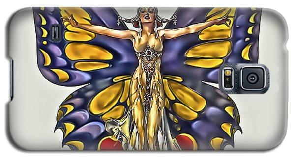 1922 Flapper Butterfly Galaxy S5 Case