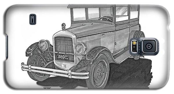 1925 Jewett 2 Door Touring Sedan Galaxy S5 Case by Jack Pumphrey