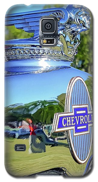 1930 Chevrolet Ad Hood Ornament Galaxy S5 Case