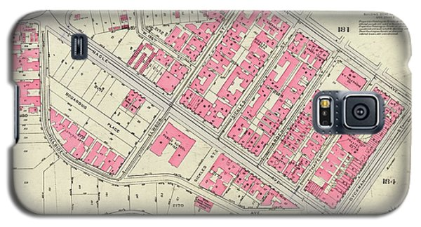 1930 Inwood Map  Galaxy S5 Case