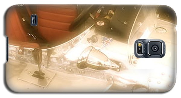 1930s Single Seater Racing Car Detail Galaxy S5 Case by John Colley