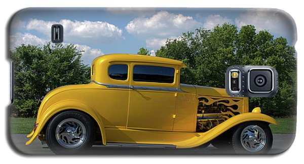 1931 Ford Coupe Hot Rod Galaxy S5 Case