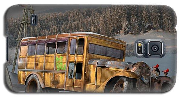 1931 Ford School Bus Galaxy S5 Case