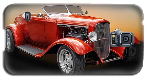 Galaxy S5 Case featuring the photograph 1932 Ford Convertible Roadster by Frank J Benz