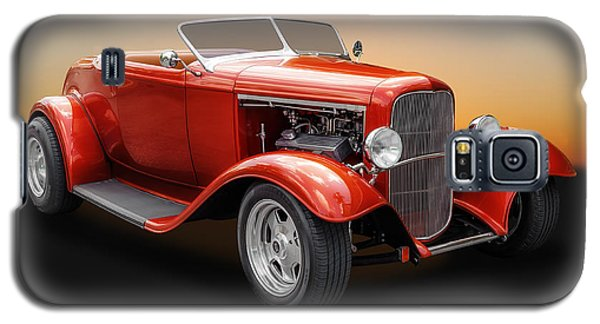1932 Ford Convertible Roadster Galaxy S5 Case by Frank J Benz