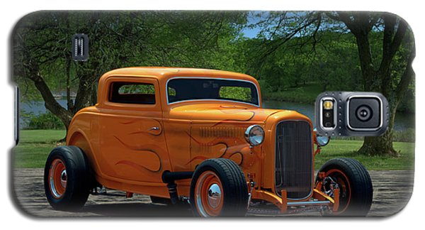 1932 Ford Coupe Hot Rod Galaxy S5 Case