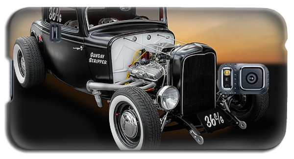 1932 Ford Deuce Coupe C/gas Roadster Galaxy S5 Case by Frank J Benz