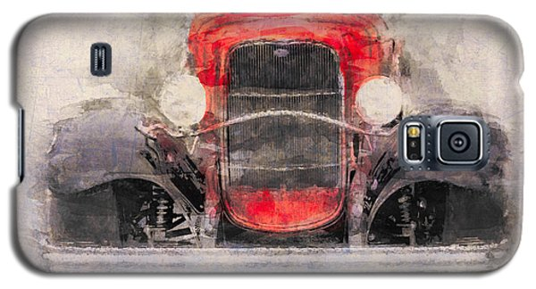1932 Ford Roadster Red And Black Galaxy S5 Case