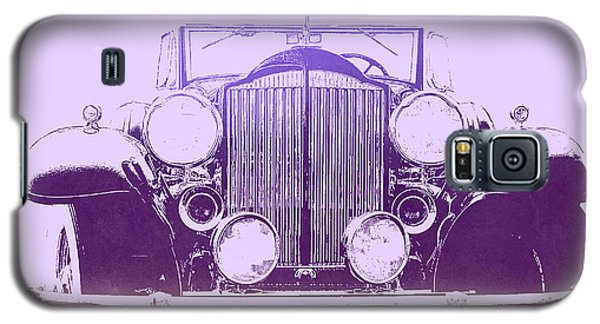 1932 Packard Pop Art Violet Gradient Galaxy S5 Case