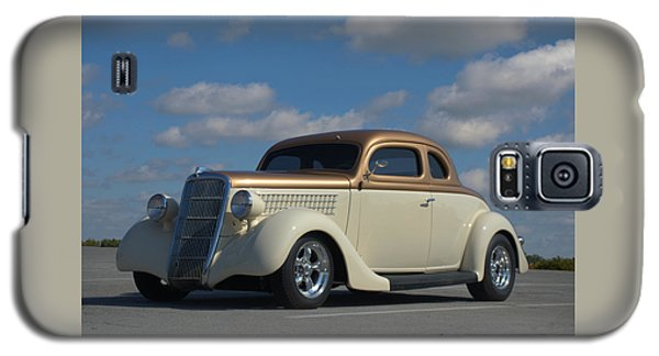 1935 Ford Coupe Hot Rod Galaxy S5 Case