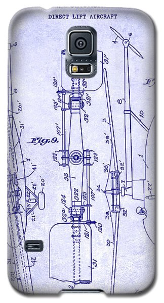 1935 Helicopter Patent Blueprint Galaxy S5 Case