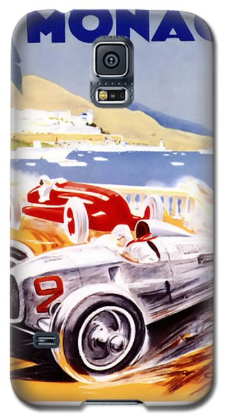 1936 F1 Monaco Grand Prix  Galaxy S5 Case