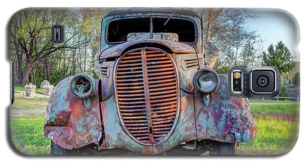 1936 Model 511 1/2 Ton Stakebed Farm Truck Near Charlevoix, Mic Galaxy S5 Case