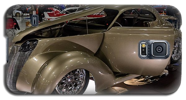 Galaxy S5 Case featuring the photograph 1937 Ford Coupe by Randy Scherkenbach