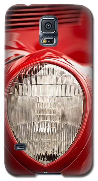 1937 Ford Headlight Detail Galaxy S5 Case by  Onyonet  Photo Studios