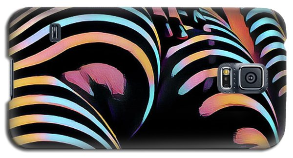 1937s-ak Sliding Her Hand Down Her Naked Back Rendered In Composition Style Galaxy S5 Case