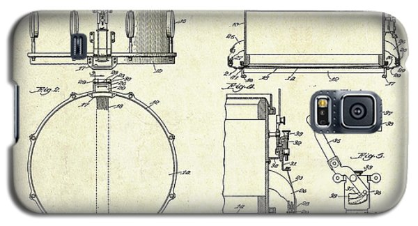 1939 Slingerland Snare Drum Patent Sheets Galaxy S5 Case