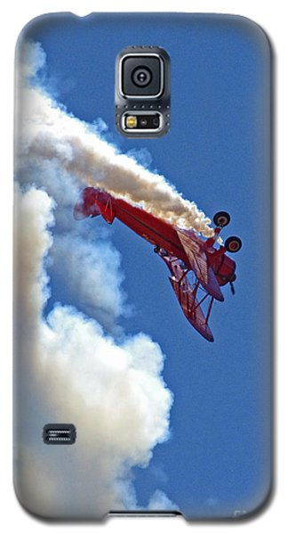 1940 Boeing Stearman Biplane Stunt 2 Galaxy S5 Case