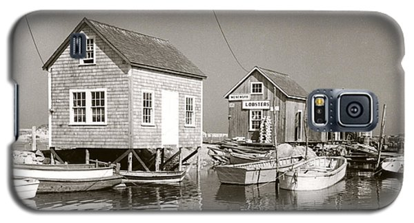 Galaxy S5 Case featuring the photograph 1941 Lobster Shacks, Martha's Vineyard by Historic Image