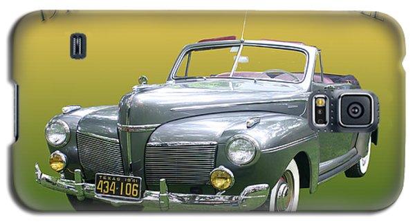 1941 Mercury Eight Convertible Galaxy S5 Case by Jack Pumphrey