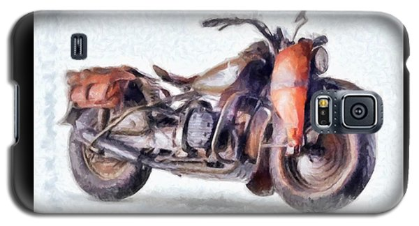 1942 Harley Davidson, Military, 750cc Galaxy S5 Case