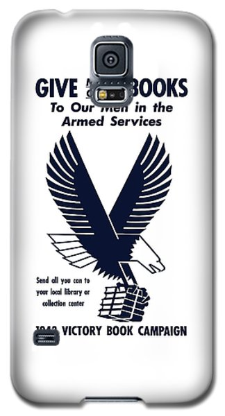 School Galaxy S5 Case - 1943 Victory Book Campaign by War Is Hell Store