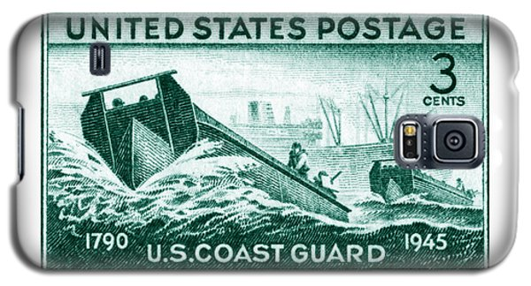 1945 Coast Guard Issue Stamp Galaxy S5 Case by Historic Image