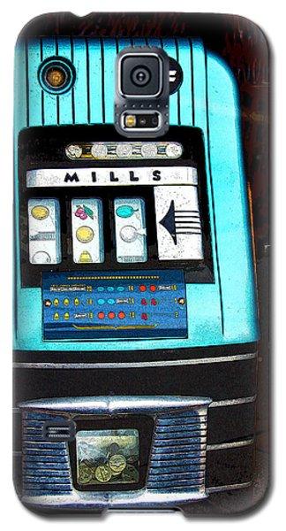 1945 Mills High Top 5 Cent Nickel Slot Machine Galaxy S5 Case
