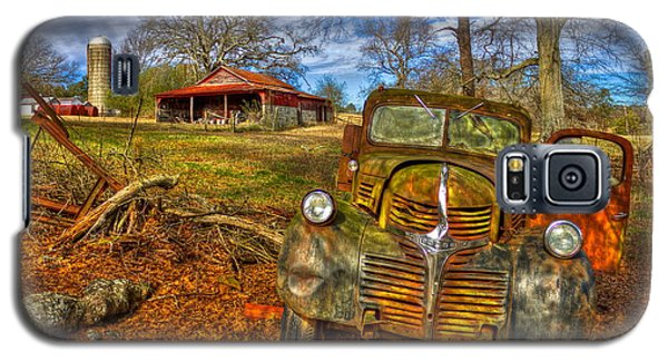 1947 Dodge Dump Truck Country Scene Art Galaxy S5 Case