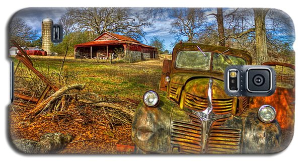 Retired 1947 Dodge Dump Truck Country Scene Art Galaxy S5 Case
