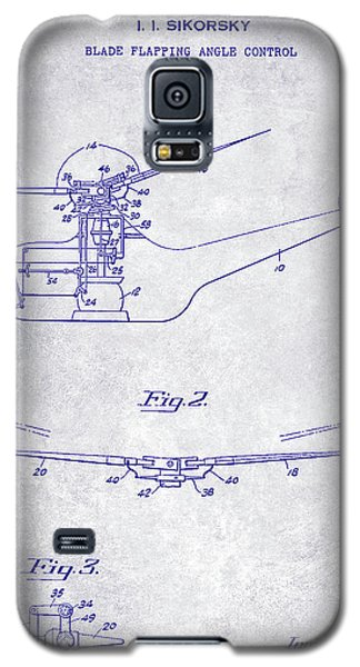 1947 Helicopter Patent Blueprint Galaxy S5 Case