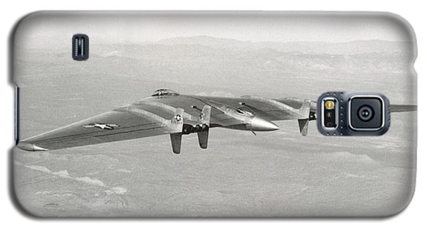 Galaxy S5 Case featuring the photograph 1947 Northrop Flying Wing by Historic Image