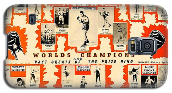 1947 World Champions And Past Greats Of The Prize Ring Galaxy S5 Case