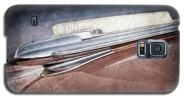 Galaxy S5 Case featuring the photograph 1948 Chevrolet Hood Ornament -0587ac by Jill Reger