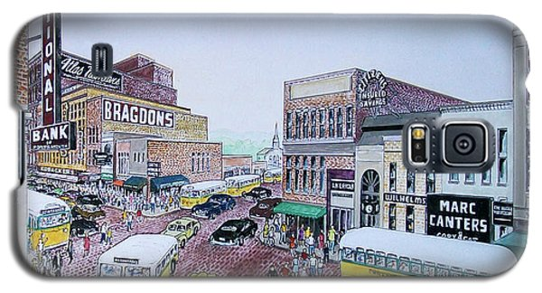 Rush Hour Portsmouth Ohio 1948 Galaxy S5 Case