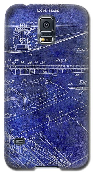 1949 Helicopter Patent Blue Galaxy S5 Case